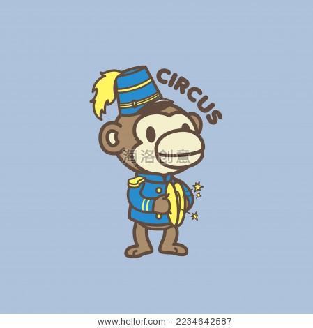 动物家族之马戏团猴子
