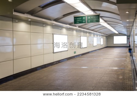 地下通道 - 建筑物/地标,背景/素材 - 站酷海洛创意