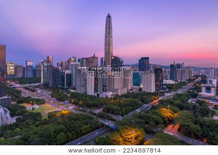 深圳平安国际金融中心-建筑物/地标,背景/素材-海洛