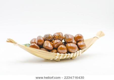 糖炒板栗-背景/素材,食品及饮料-海洛创意正版图片