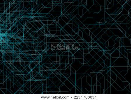 科技纹理背景图案,线条线框粒子 - 背景/素材,科技
