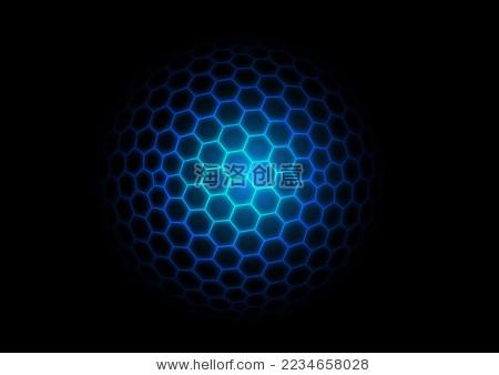 3d多边形网格,抽象的矢量背景-背景/素材,科技-海洛()