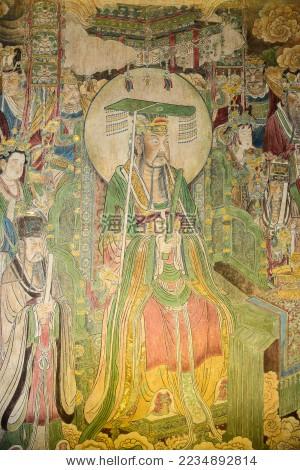 古代皇帝画像