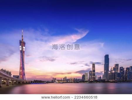 广州新地标建筑-建筑物/地标,商业/金融-海洛创意正版