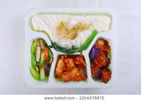 高铁餐 飞机餐 快餐 盒饭