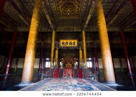 北京,故宫,太和殿--海洛创意正版图片,视频,音乐素材
