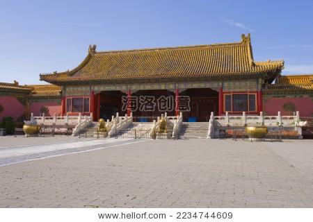 北京,故宫,乾清门--海洛创意正版图片,视频,音乐素材