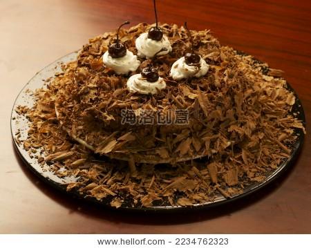 巧克力碎屑蛋糕