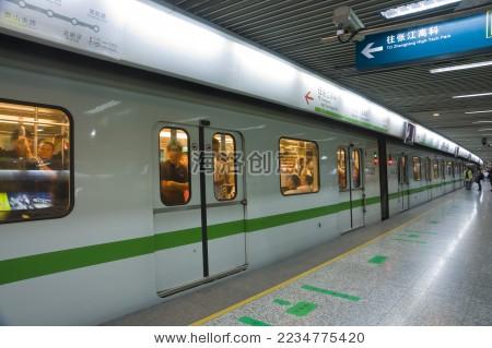 上海地铁--海洛创意正版图片,视频,音乐素材交易平台