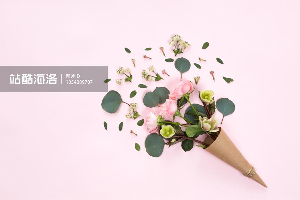 抛开满眼大张旗鼓的红玫瑰,极简风的花朵照片在大量留白方便二次创作